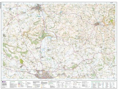 Maps - Leominster Bromyard Explorer Map - Ordnance Survey
