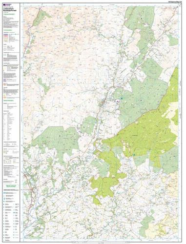 Maps - Liddesdale Kershope Forest Explorer Map - Ordnance Survey