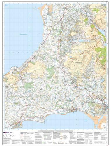 Maps - Lleyn Peninsula East Explorer Map - Ordnance Survey
