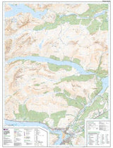 Maps - Loch Arkaig Explorer Map - Ordnance Survey