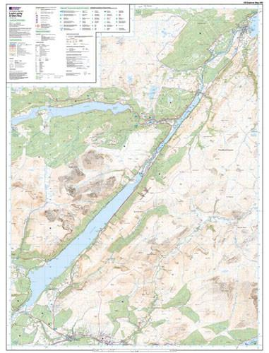 Maps - Loch Lochy Glen Roy Explorer Map - Ordnance Survey