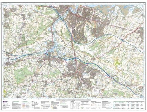 Maidstone the Medway Towns Explorer Map Ordnance Survey Geopacks