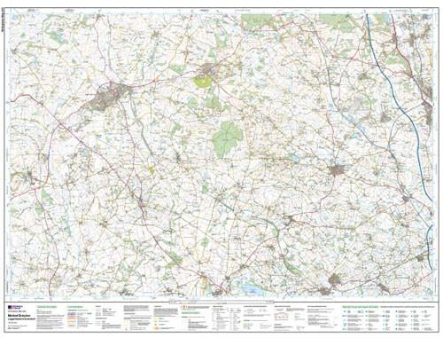 Maps - Market Drayton Loggerheads Explorer Map - Ordnance Survey