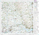 Maps - Market Weighton Goole Landranger Map - Ordnance Survey