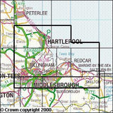 Maps - Middlesbrough Hartlepool Explorer Map - Ordnance Survey