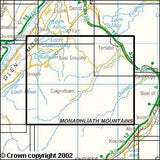 Maps - Monadhliath Mountains Explorer Map - Ordnance Survey