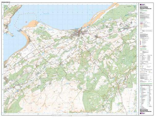 Maps - Nairn Cawdor Explorer Map - Ordnance Survey