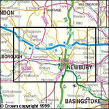 Maps - Newbury Hungerford Explorer Map - Ordnance Survey