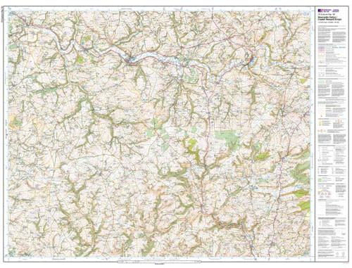 Maps - Newcastle Emlyn Llandysul Explorer Map - Ordnance Survey