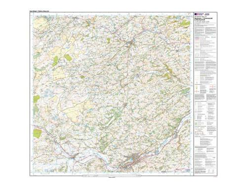 Maps - Newtown Llanfair Caereinion Explorer Map - Ordnance Survey