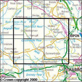Maps - Nidderdale Explorer Map - Ordnance Survey