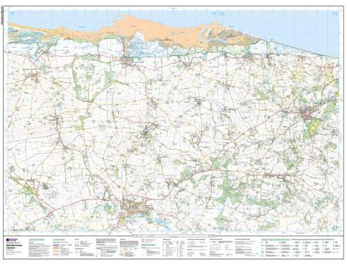 Maps - Norfolk Coast Central Explorer Map - Ordnance Survey