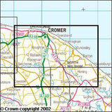 Maps - Norfolk Coast East Explorer Map - Ordnance Survey