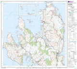 Maps - North Skye Dunvegan Portree Landranger Map - Ordnance Survey