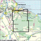 Maps - North York Moors Western Area Explorer Map - Ordnance Survey