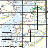 Maps - Oban Kerrera Loch Melfort Explorer Map - Ordnance Survey