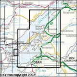 Maps - Oban North Lorn Explorer Map - Ordnance Survey