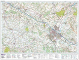 Maps - Ordnance Survey Explorer Map Ashford | Geopacks.com
