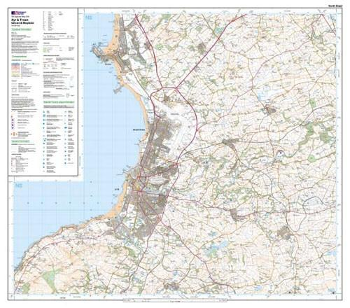 Maps - Ordnance Survey Explorer Map Ayr Troon