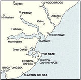Maps - Ordnance Survey Landranger Map Ipswich, The Naze And Clacton-on-Sea