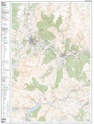 Maps - Peebles Interleithen Explorer Map - Ordnance Survey