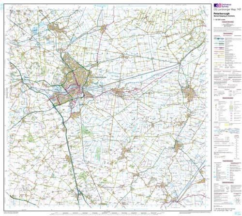 Maps - Peterborough Market Landranger Map - Ordnance Survey