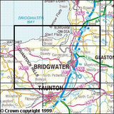 Maps - Quantock Hills Bridgwater Explorer Map - Ordnance Survey