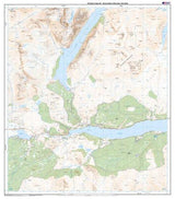 Maps - Rannoch Moor Ben Alder Explorer Map - Ordnance Survey