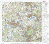 Maps - Reading Windsor Landranger Map - Ordnance Survey
