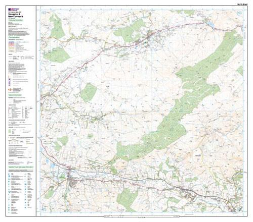 Maps - Sanquhar New Cumnock Explorer Map - Ordnance Survey