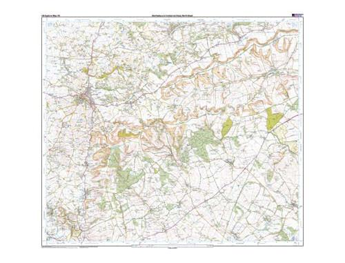 Maps - Shaftesbury Cranbourne Chase Explorer Map - Ordnance Survey