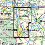 Maps - Sheffield Barnsley Explorer Map - Ordnance Survey