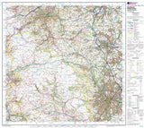 Maps - Sheffield Huddersfield Landranger Map - Ordnance Survey