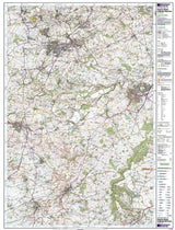 Maps - Shepton Mallet Mendip Hills Explorer Map - Ordnance Survey