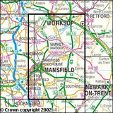 Maps - Sherwood Forest Explorer Map - Ordnance Survey