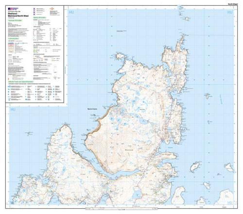 Maps - Shetland Mainland North West Explorer Map - Ordnance Survey