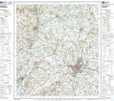 Maps - Shrewsbury Oswestry Landranger Map - Ordnance Survey