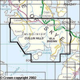 Maps - Skye Cuillin Hills Explorer Map - Ordnance Survey