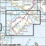 Maps - South Harris Explorer Map - Ordnance Survey
