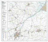 Maps - Spalding Holbeach Explorer Map - Ordnance Survey