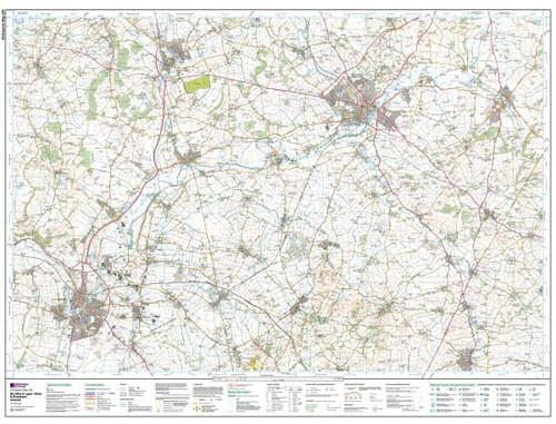 Maps - Stratford-upon-Avon Evesham Explorer Map - Ordnance Survey