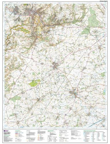 Maps - Stroud Tetbury Malmesbury Explorer Map - Ordnance Survey
