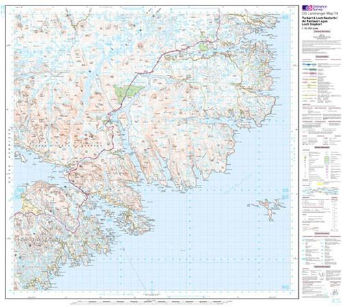 Maps - Tarbert Loch Seaforth Landranger Map - Ordnance Survey