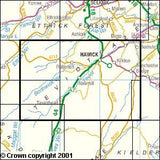 Maps - Teviotdale South Explorer Map - Ordnance Survey