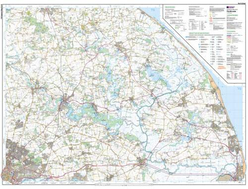 Maps - The Broads Explorer Map - Ordnance Survey