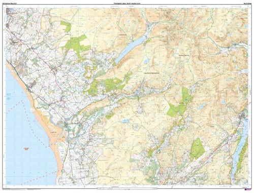 Maps - The English Lakes SW Area Explorer Map - Ordnance Survey