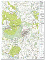 Maps - Thetford Forest In The Brecks Explorer Map - Ordnance Survey