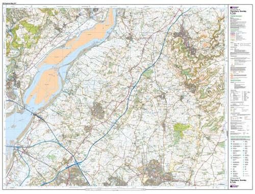 Maps - Thornbury Dursley Yate Explorer Map - Ordnance Survey