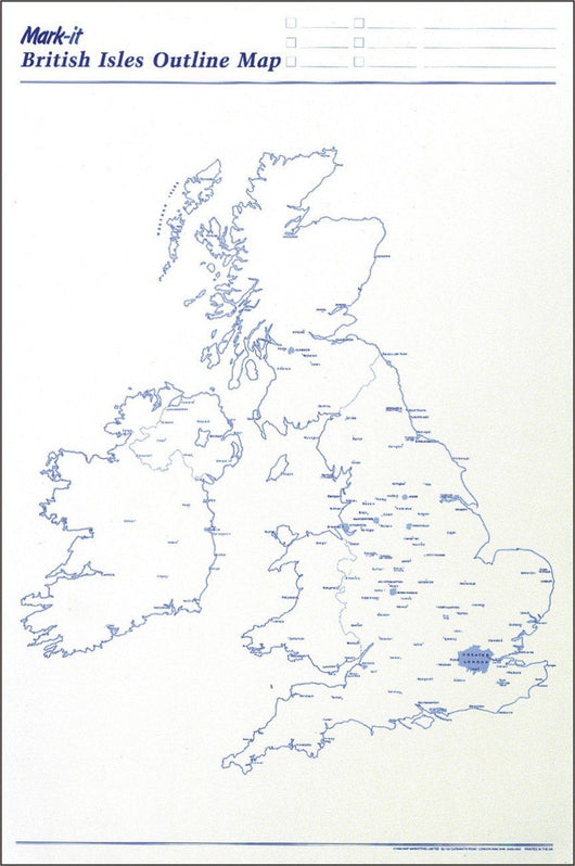 Maps - Uk Outline Map Planner