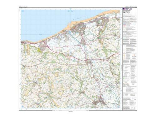 Maps - Vale Of Clwyd Rhyl Denbigh Explorer Map - Ordnance Survey